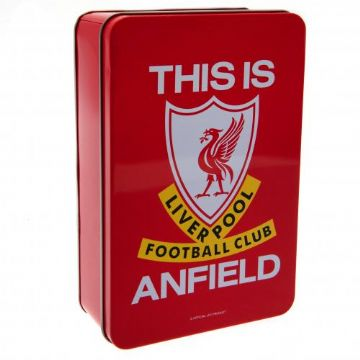 Liverpool FC  Metal Supporters Tin